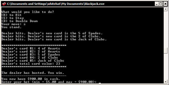 blackjack jar
